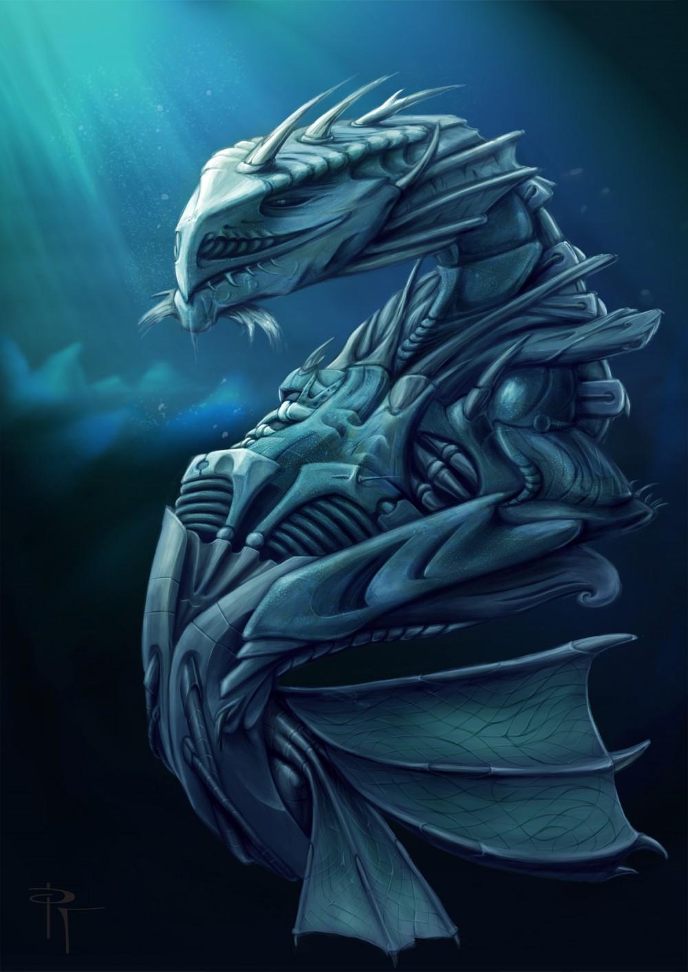 Sea Dragon Art Of Pablo Tochez